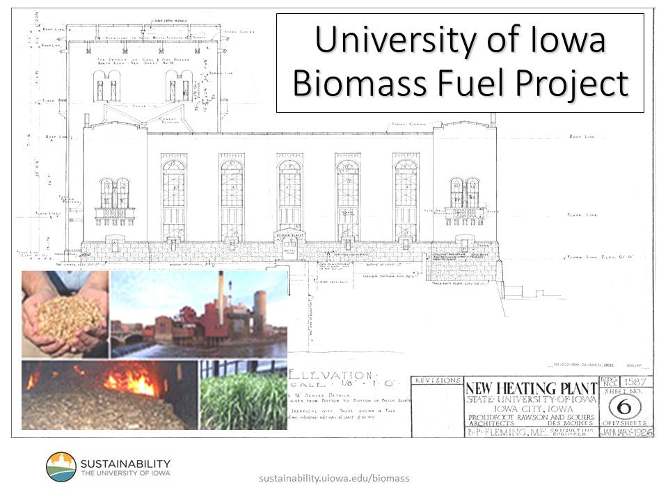 cover image from Biomass Fuel Project presentation by Ben Anderson 2014
