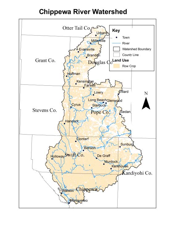 Chippewa watershed map