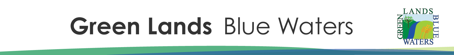 Green Lands Blue Waters Banner