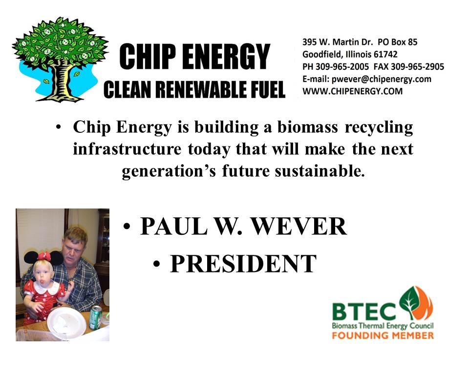 cover image from Chip Energy presentation by Paul Wever 2014