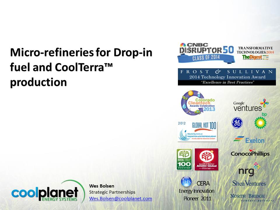 cover image from CoolTerra presentation by Wes Bolsen 2014